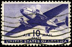 US Stamp 10c 1941